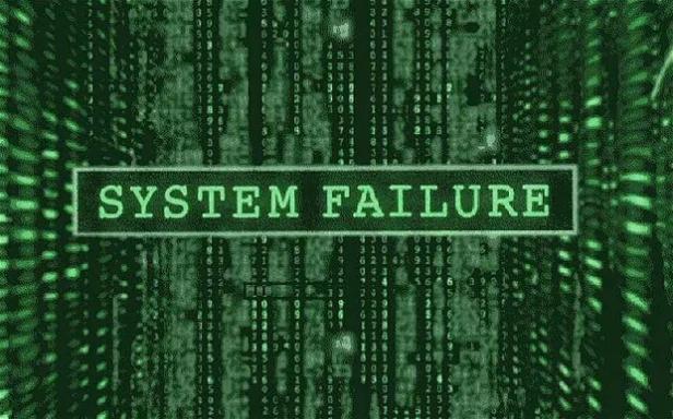 matrix-system-fail